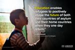 If refugee children don't get an education, who will rebuild their countries when the time comes?   No more #MissingOut - read our new Education report http://trib.al/3PggDK9