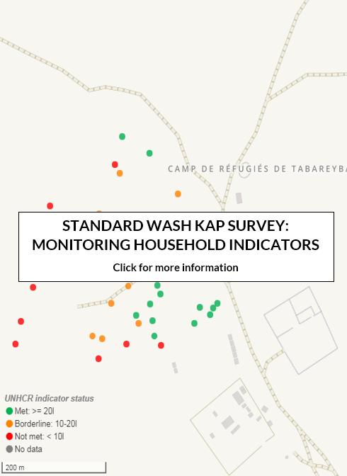 STANDARD WASH KAP SURVEY: MONITORING HOUSEHOLD INDICATORS
