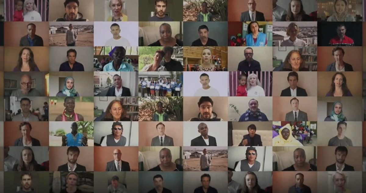 WithRefugees Celebrities Appeal