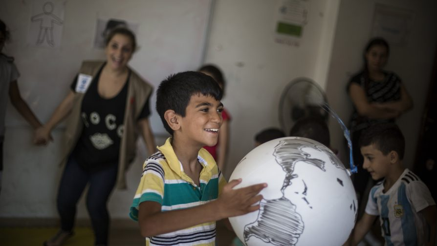 In Lebanon, Iraqi boy with autism finds escape from isolation