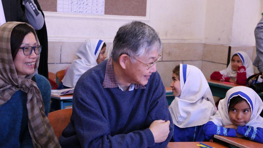 施永青親身接觸流離失所人士-聯合國難民署伊朗探訪分享會